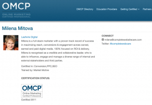 omcp-certified